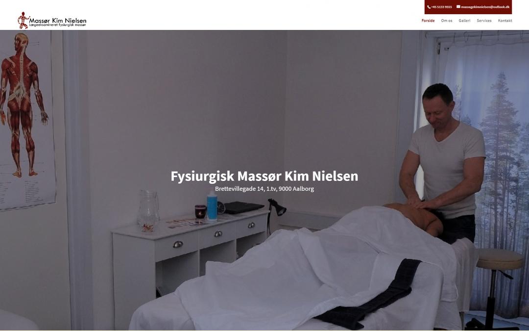 Massør Kim Nielsen
